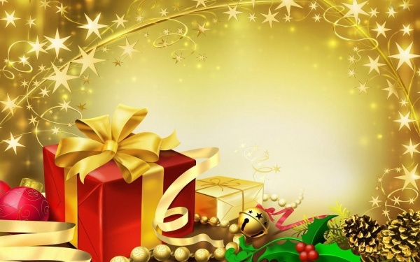 Free Christmas Gift Wallpaper