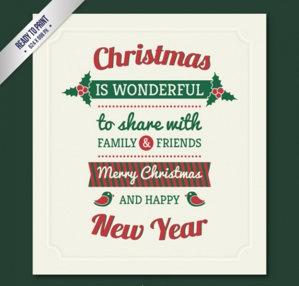 free-christmas-greeting-design