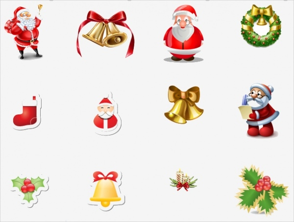 free-christmas-icons-set