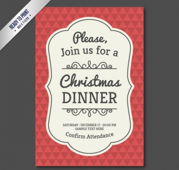 free-christmas-invitation-design