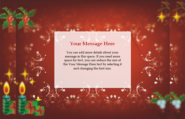 Free Christmas Invitation Template