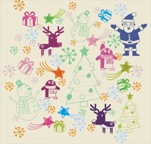 free-christmas-pattern-design
