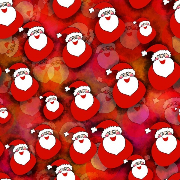 Free Christmas Red Wallpaper