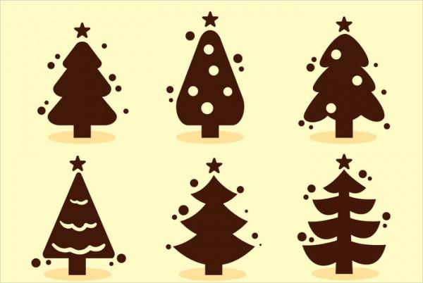free-christmas-silhouettes-design