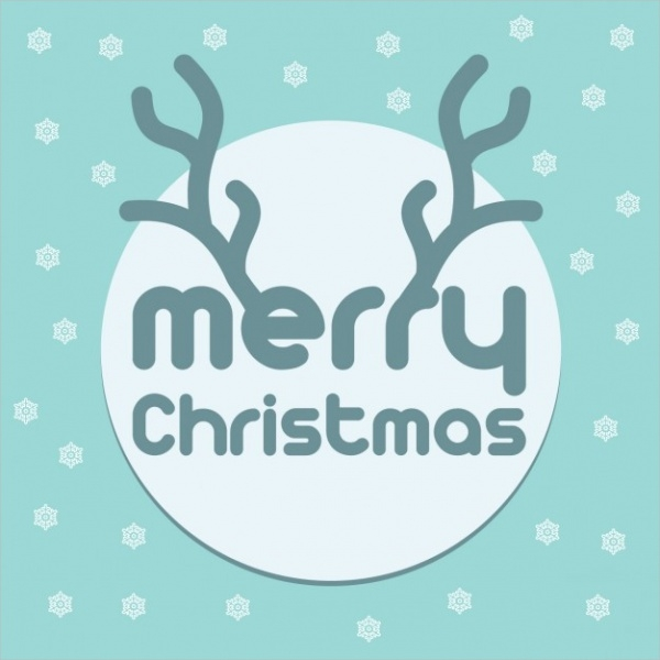 free-christmas-typography-design