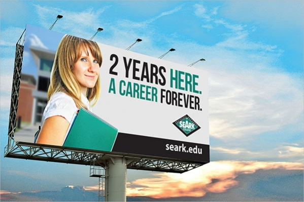 free-college-billboard-template