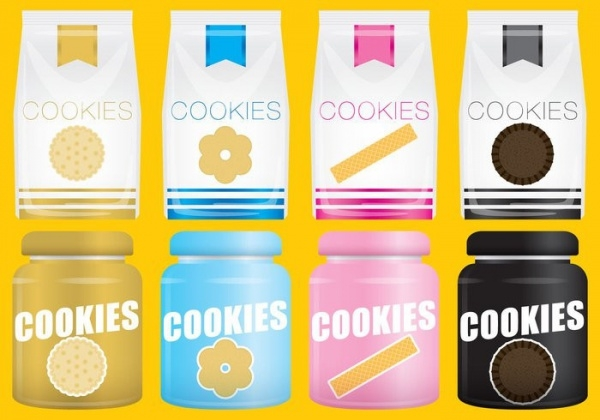 Free Cookie Packaging Design