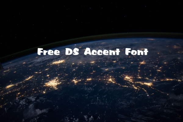 Free DS Accent Font