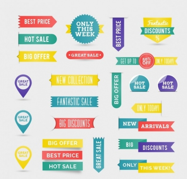 free discount labels