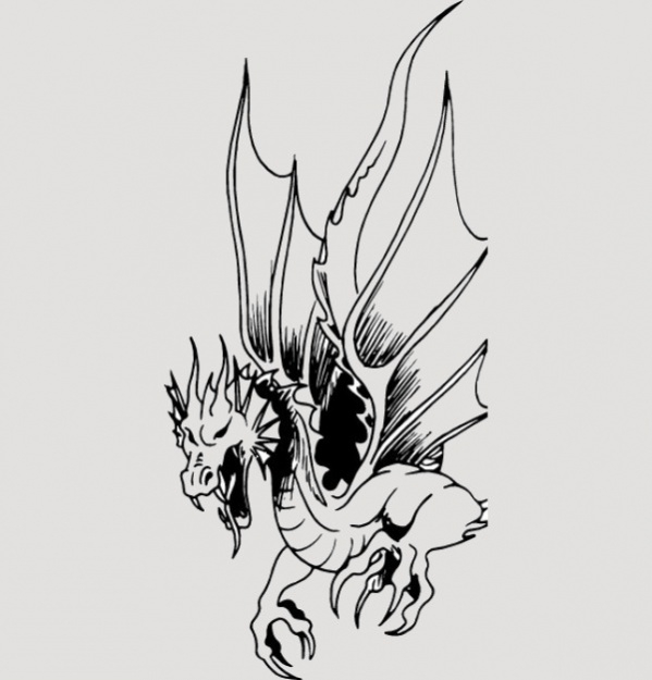 Free Dragon Clipart Image