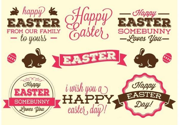 Free Easter Label design