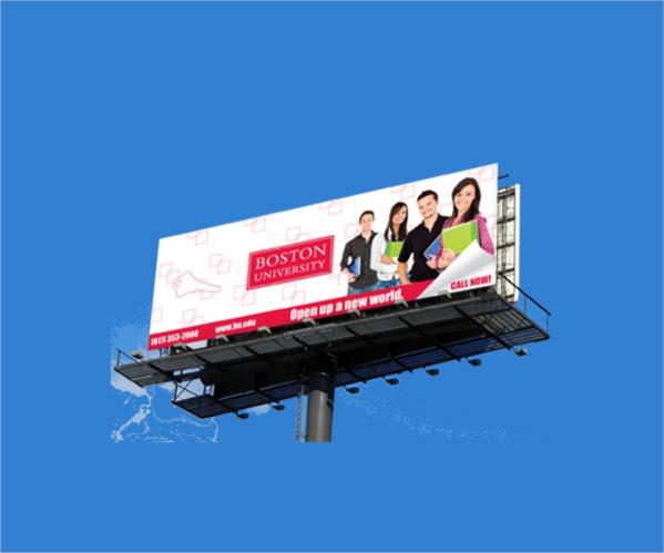 free-education-billboard-template