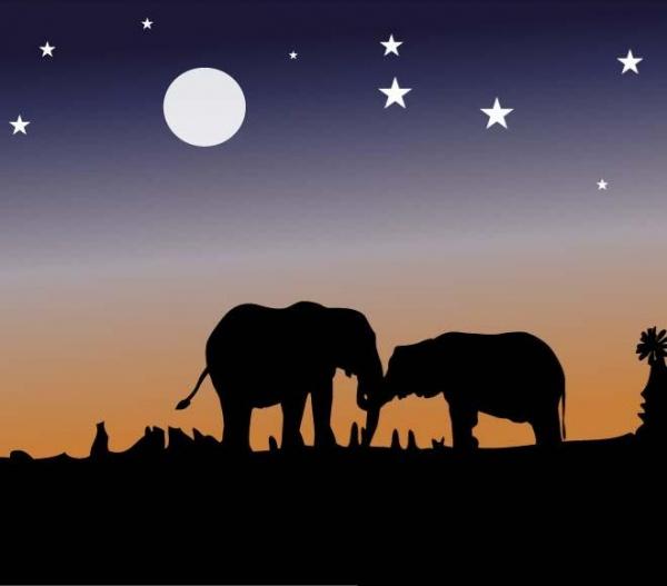 free-elephant-silhouettes-design