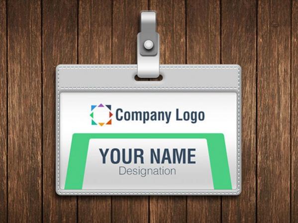 Free Employee ID Card Design