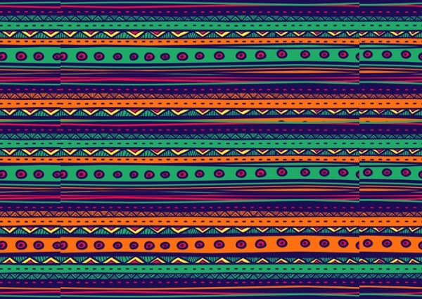 Free Ethnic Tribal Pattern Design