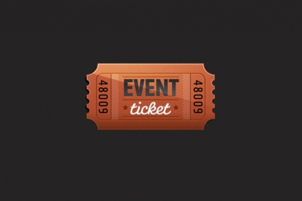 Free Event Ticket Design
