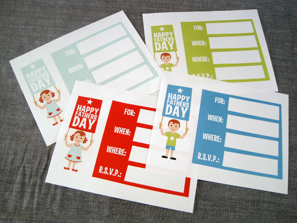 Free Father's Day Printables Card