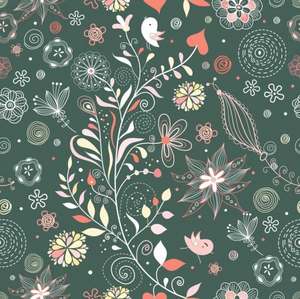 Free Floral Pattern Design