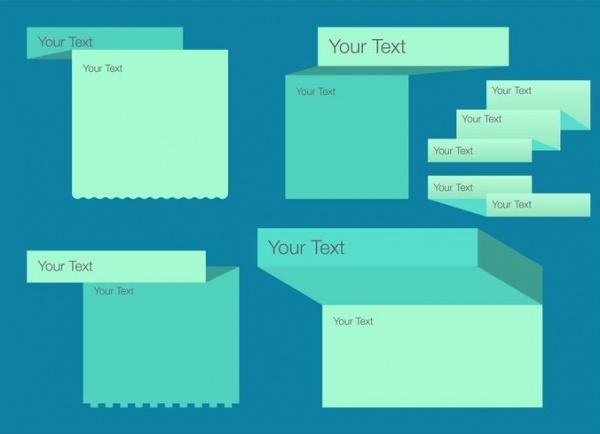 free folded box template1