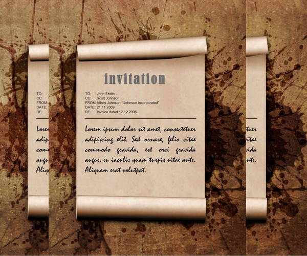 Free Formal Invitation Design