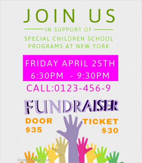 Free Fundraiser Flyer Design