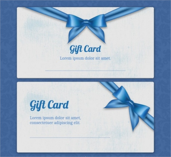 Free Gift Card Design