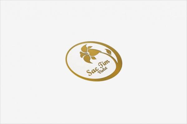 free-gold-flower-logo