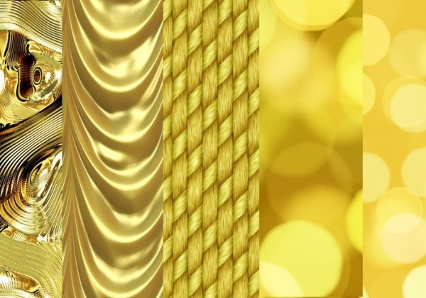 Free Gold Pattern Design