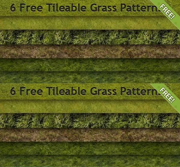 Free Grass Pattern Design