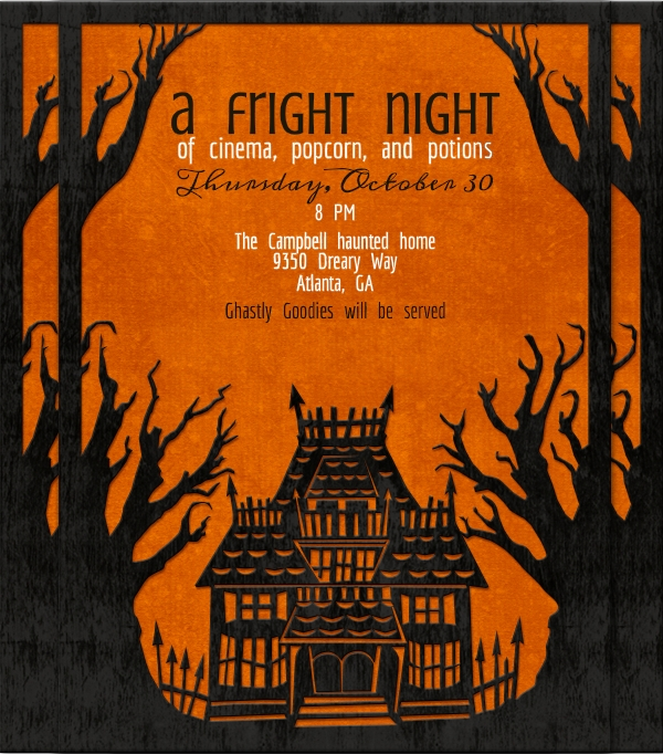 Free Halloween Invitation Design