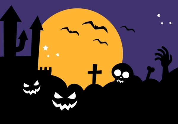 free-halloween-silhouettes-design