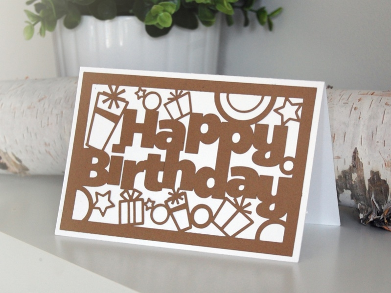 Free Handmade Birthday Card