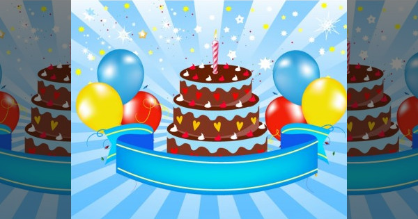 Free Happy Birthday Announement Clipart Graphics
