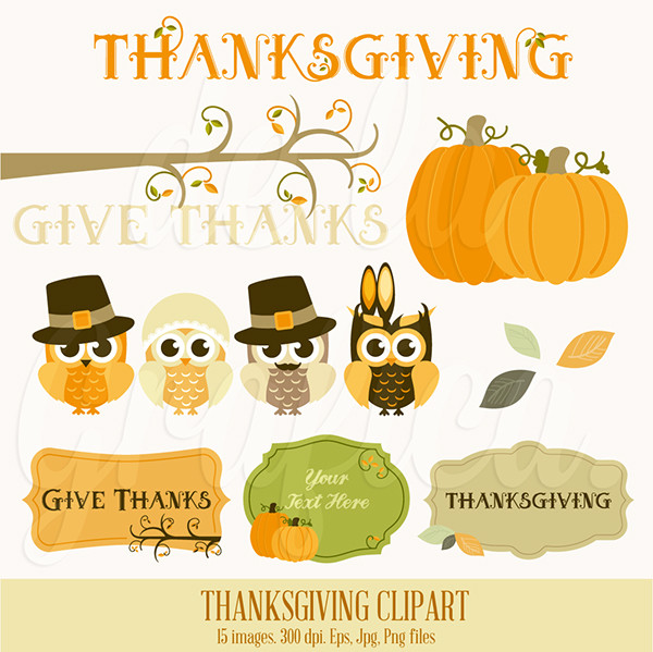 happy thanksgiving clip art - photo #25