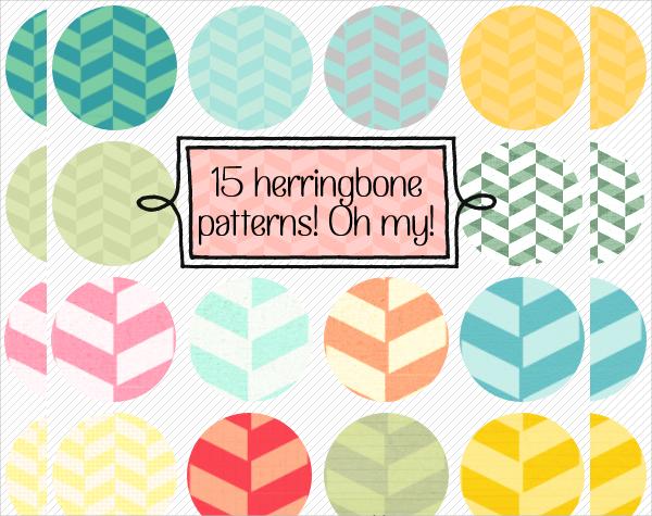 Free Herringbone Pattern Design
