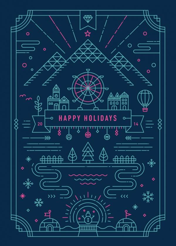 Free Holiday Greeting Card