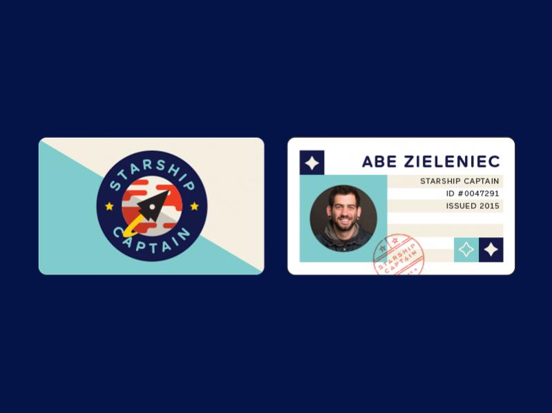 Free Innovative ID Card Design