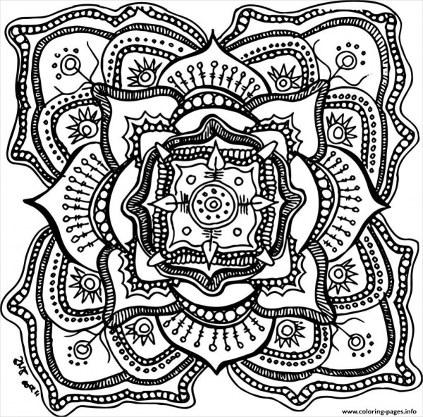 23 Free Coloring Pages for Adults JPG AI Illustrator Download