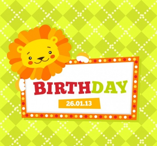 Free Kids Birthday Card