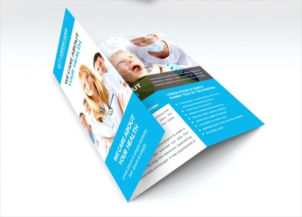 free medical brochure template