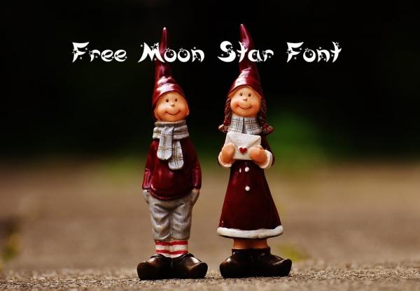 Free Moon Star Font