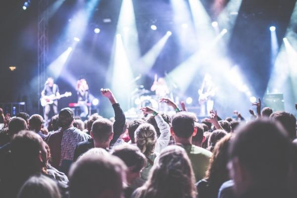 Free Music Concert Stock Image
