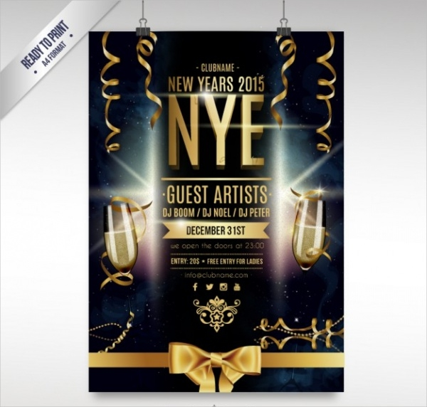 free-new-year-flyer-design
