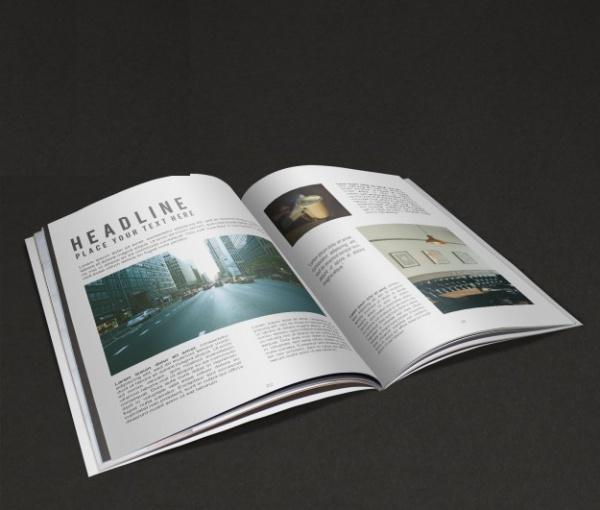 free-psd-magazine-design