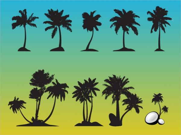 Free Palm Tree Vector Art