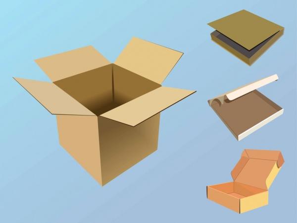 free paper box template1
