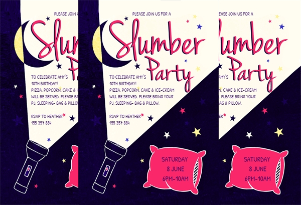 Free Party Invitation Design