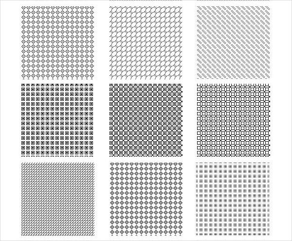 Free Pixel Pattern Design