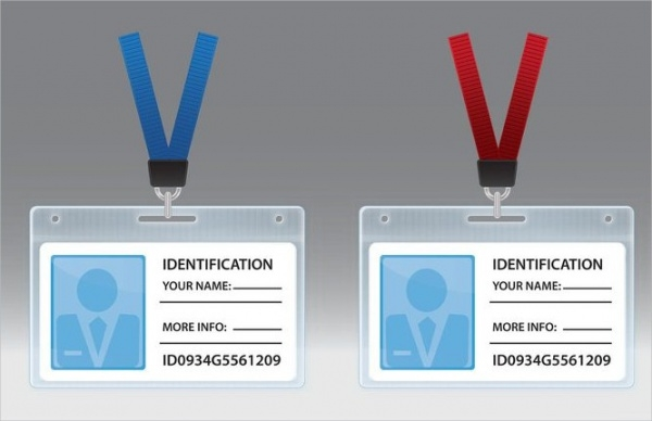 Free Plastic ID Card Design