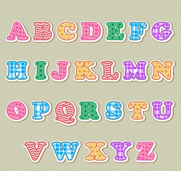 free-pretty-alphabet-letters